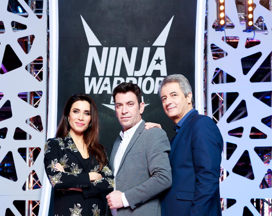 NinjaWarrior_ArturoValls_ManoloLama_PilarRubio_FotografoRobertoGarver