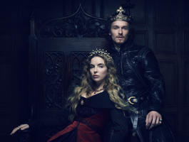 FOX-Premium-THE-WHITE-PRINCESS-Jodie-Comer-y-Jacob-Collins-Levy-como-Elizabeth-de-York-y-Henry-VII